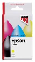 , Inktcartridge Quantore Epson T071440 geel