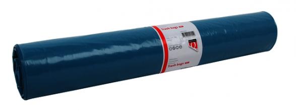 , Afvalzak Quantore LDPE T50 160L blauw extra stevig 20 stuks