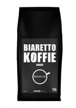 , Koffie Biaretto bonen regular 1000gr