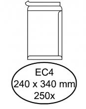 , Envelop Hermes akte EC4 240x340mm zelfklevend wit 250stuks