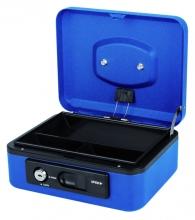 , Geldkist Pavo Deluxe 200x160x90mm blauw