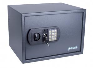 , Kluis Pavo 450x360x315mm elektronisch donkergrijs