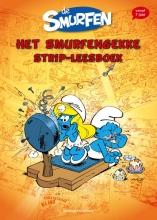 Peyo De Smurfen Het smurfengekke strip-leesboek
