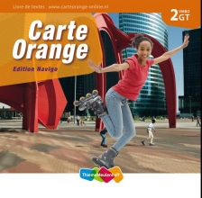 Marjo  Knop Carte Orange 2 vmbo-gt Livre de textes Edition Navigo