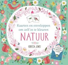 Rebecca  Jones Natuur Kaarten en enveloppen om zelf in te kleuren