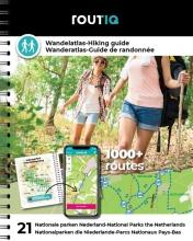 , Routiq Wandelatlas Nederland - Wandelroutes in 21 nationale parken