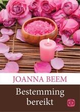 Joanna  Beem Bestemming bereikt - grote letter uitgave