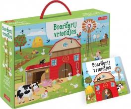 , Boerderijvriendjes - boek + giga puzzel