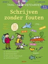 Emy  Geyskens Taaloefenboek Schrijven zonder fouten 8-9 jaar