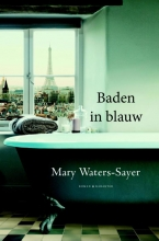 Mary  Waters-Sayer Baden in blauw