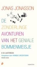 Jonas  Jonasson De zonderlinge avonturen van het geniale bommenmeisje, 6 cd`s, voorgelezen door Hanneke Groenteman, verkorte versie