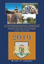 Arie Ribbers , Achterhoekse & Liemerse Spreukenkalender 2019