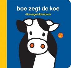 Dick Bruna , dierengeluidenboek boe zegt de koe