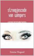 Emma  Flogard Streepjescode van wimpers