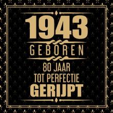 Niek Wigman , 1941 Geboren 80 Jaar Tot Perfectie Gerijpt