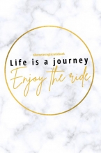 Miljonair Mindset , Kilometerregistratieboek Life is a journey, Enjoy the ride