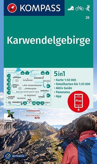 ,Karwendelgebirge 1:50 000