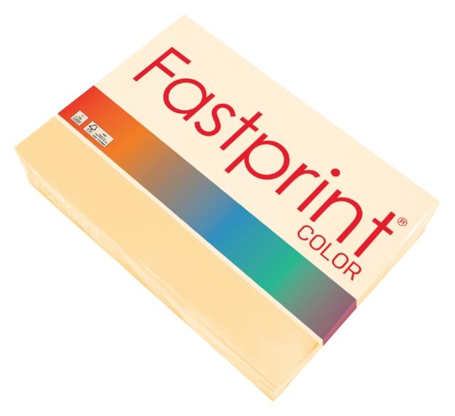 ,Kopieerpapier Fastprint A4 80gr donkerchamois 500vel