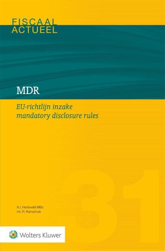 ,MDR EU-richtlijn inzake mandatory disclosure rules