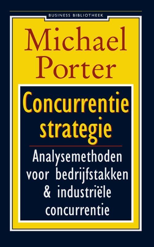 Michael E. Porter,Concurrentiestrategie