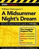 Cliffscomplete Shakespeare`s a Midsummer Nights Dream,Complete Text, Commentary, Glossary