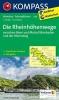 ,Die Rheinhöhenwege zwischen Bonn und Mainz Wiesbaden und der Rheinsteig 1 : 50 000