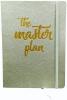 ,A5 flexi journal the master plan alpha 3 - silver 4k01