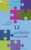<b>Kees  Kant, Michael  Mulder, Bernhard  Reitsma</b>,12 artikelen over Isra&#2013265931;l