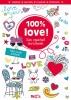 ,Mijn creatief invulboek 100% love