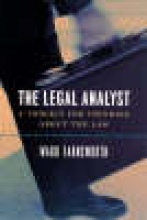 Farnsworth, Ward The Legal Analyst - A Toolkit for Thinking about the Law