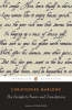 Marlowe, Christopher,Complete Poems and Translations