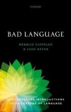 Herman Cappelen,   Josh Dever Bad Language