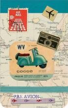 Bon Voyage Mini Journal