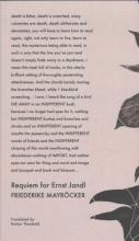 Mayrocker, Friederike Requiem for Ernst Jandl