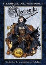 Joe Benitez Lady Mechanika Steampunk Coloring Book Vol 2