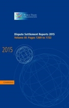 World Trade Organization Dispute Settlement Reports 2015