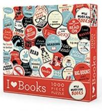 Puzzle I Heart Books