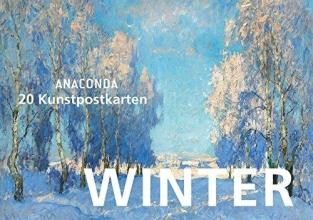 Anaconda Postkartenbuch Winter
