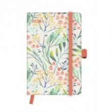 Floral 2018 GreenLine Taschenkalender/Diary klein