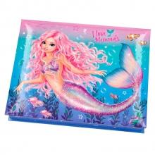, Fantasy model doos met schrijf waren mermaid