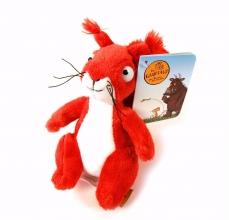 Gru-60350 , Knuffel 14 cm gruffalo-karakters eekhoorn
