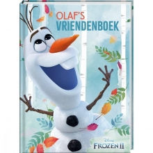 , Vriendenboek Frozen 2 - Olaf - LOS - FSC MIX CREDIT