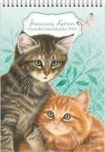 , Maandnotitie kalender franciens katten a4 kittens