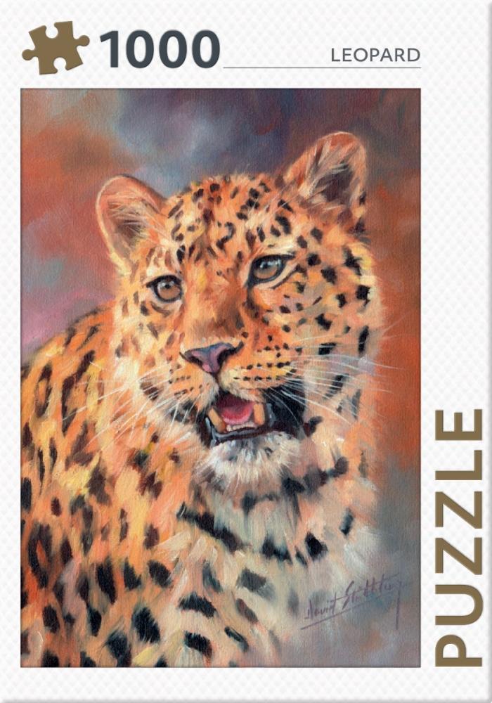 ,Leopard - puzzel 1000 stukjes