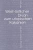 Daigger Annette Daigger,   Schroder-Werle Renate Schroder-Werle,   Thoming Jurgen Thoming, ,West-oestlicher Divan zum utopischen Kakanien