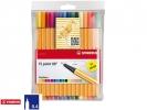 ,<b>Fineliner STABILO point 88 etui à 15 kleuren</b>