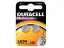, Batterij Duracell knoopcel 2xLR54 alkaline Ø11,6mm 2 stuks