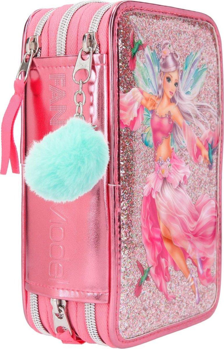 ,Fantasymodel 3-vaks etui fairy