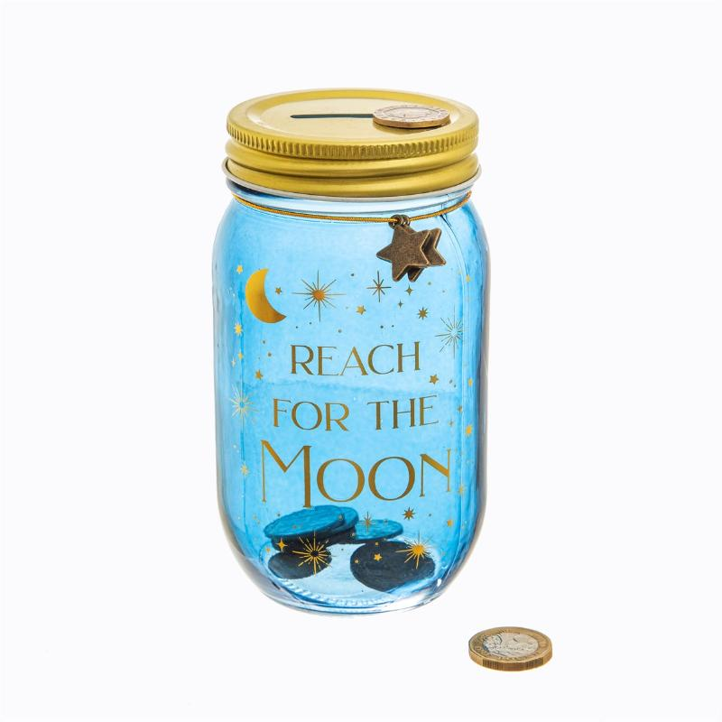 ,Spaarpot `reach for the moon`