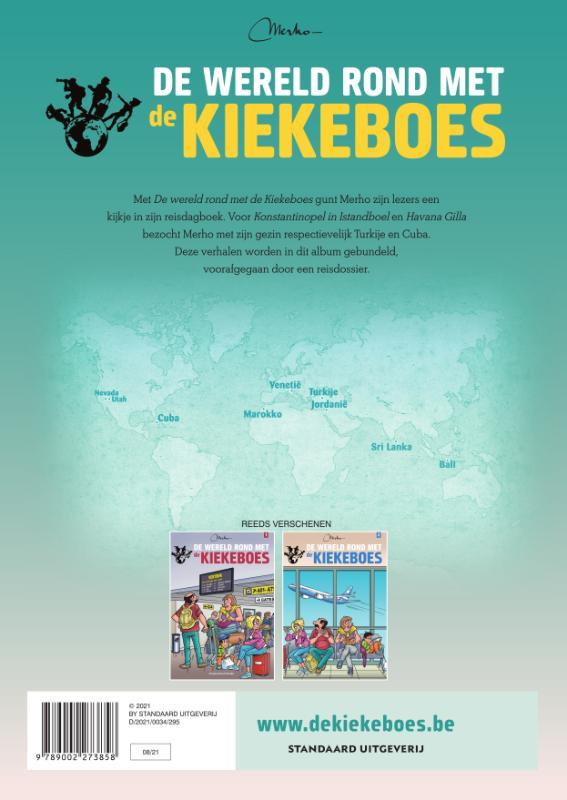 Merho,De wereld rond met Kiekeboe